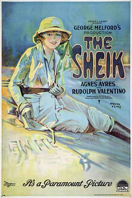 Vintage Poster - The Sheik Poster by Vintage Images