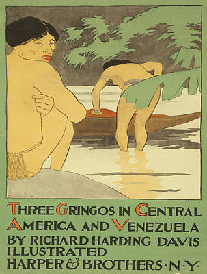 Vintage Poster - Three Gringos Poster by Vintage Images