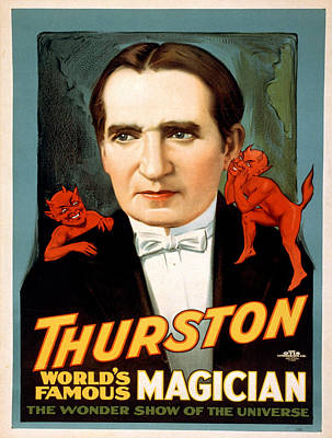 Vintage Poster - Thurston Poster by Vintage Images