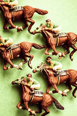 Vintage Racehorse Art Poster