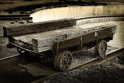 Vintage Rail Cart Poster