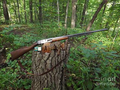 Vintage Remington Model 12 Poster by Gerald Strine