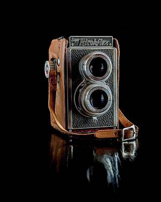 Vintage Ricohflex Camera Poster