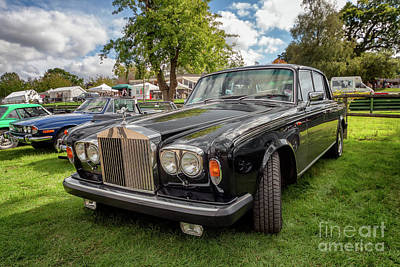 Vintage Rolls Poster
