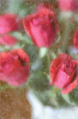 Poster featuring the photograph Vintage Rose Bouquet by Diane Alexander