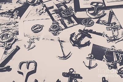Vintage Sailing Art Poster