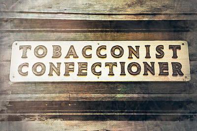 Vintage Sign Poster