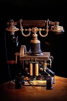 Vintage Telephone - Casa Loma Poster