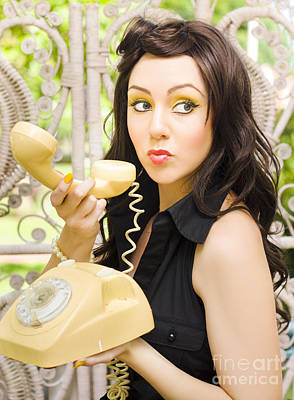 Vintage Telephone Poster by Jorgo Photography - Wall Art Gallery