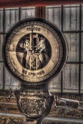 Vintage Toledo No Springs Scale Poster