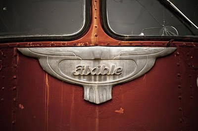 Vintage Tour Bus Poster
