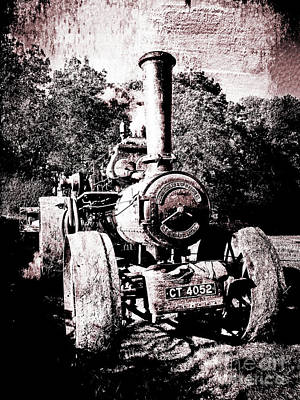 Vintage Tractor Poster