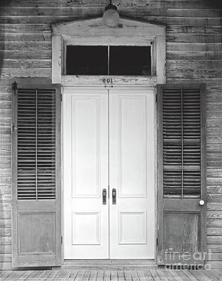 Poster featuring the photograph Vintage Tropical Weathered Key West Florida Doorway by John Stephens