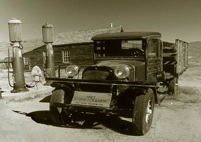 Old Truck 1927 - Vintage Photo Art Print Poster