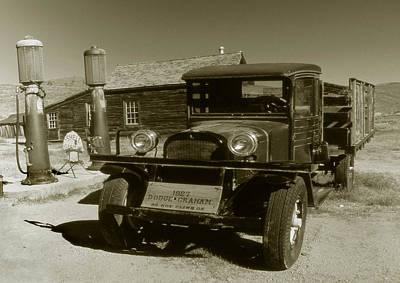 Old Truck 1927 - Vintage Photo Art Print Poster