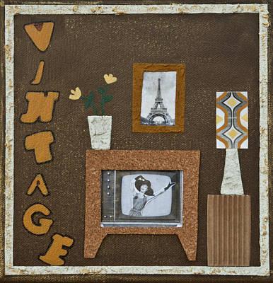 Vintage Tv Poster