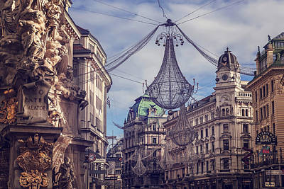 Vintage Vienna Poster by Carol Japp