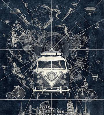 Vintage Voyager Poster