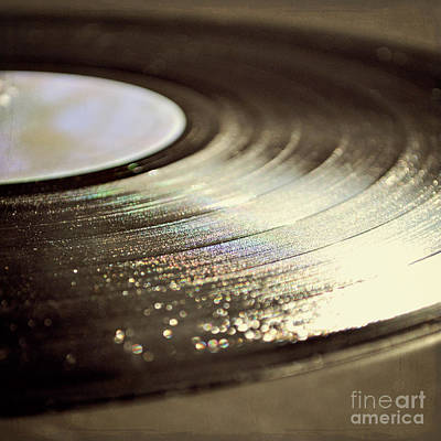 Vinyl Record Poster by Lyn Randle