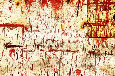 Violent Red Poster