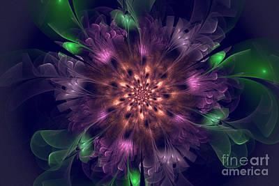 Violet Beauty Poster by Amelia Macioszek