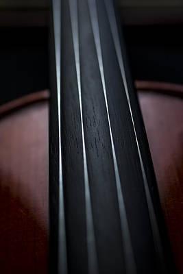 Violin Portrait Music 3 Poster
