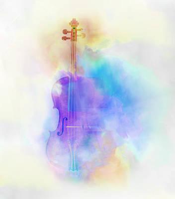 Violin Poster by Scott Meyer