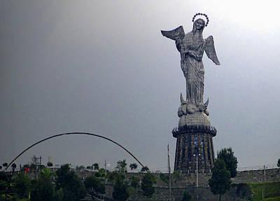 Virgen De El Panecillo Poster by Al Bourassa