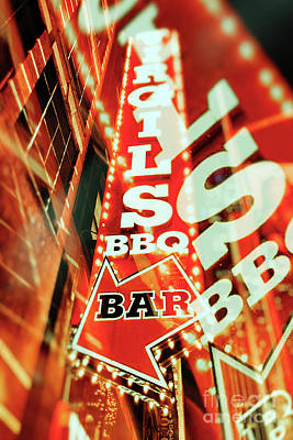 Virgils Real Bbq New York City Poster