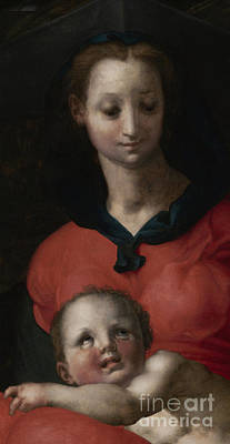 Virgin And Child, Known As The Madonna Del Libro Poster