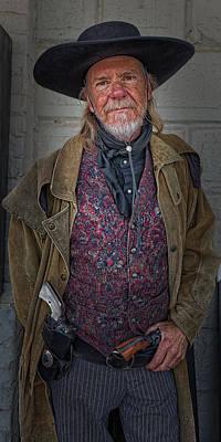 Virginia City Cowboy Poster