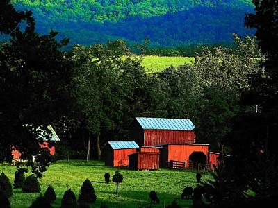 Virginia Valley View Poster by Joyce Kimble Smith