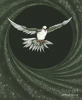 Viriditas-holy Spirit Detail Poster by William Hart McNichols