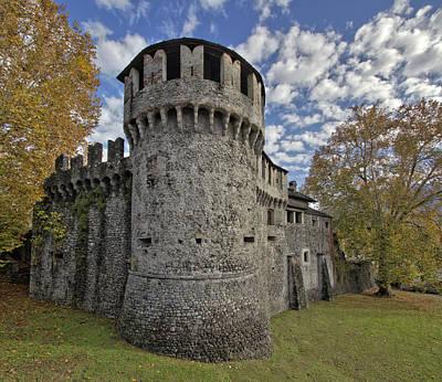 Visconteo Castle In Locarno Canton Of Ticino Poster