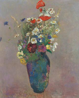 Vision Vase Of Flowers  Poster