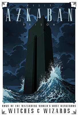 Visit Azkaban Poster by Christopher Ables