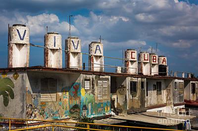 Viva Cuba Poster by Dan Hartford