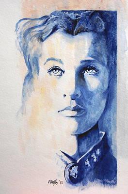 Vivian Leigh / Scarlett Poster by William Walts