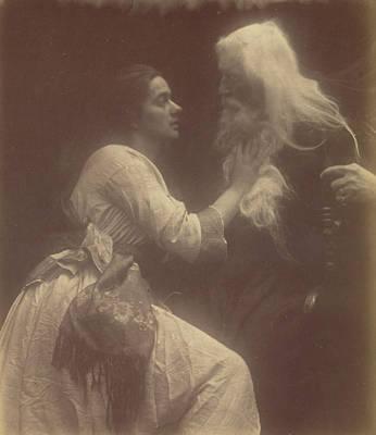 Vivien And Merlin Vivien And Merlin Poster by Julia Margaret