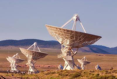 Vla Radio Telescopes - Socorro -  Nm Poster by Steven Ralser