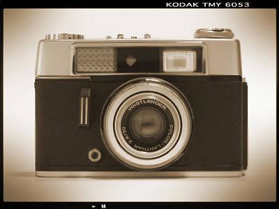 Voigtlander Rangefinder Camera Poster