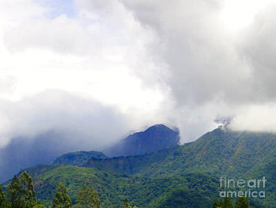 Volcan Panama Scene Poster