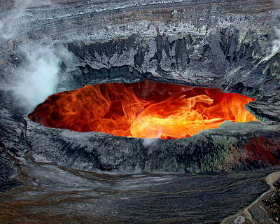 Volcanic Eruption Poster
