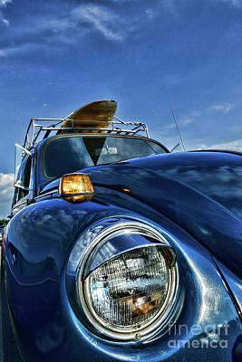 Volkswagen Surfs Up Poster