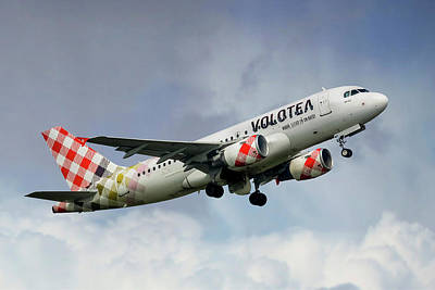 Volotea Airbus A319s Poster