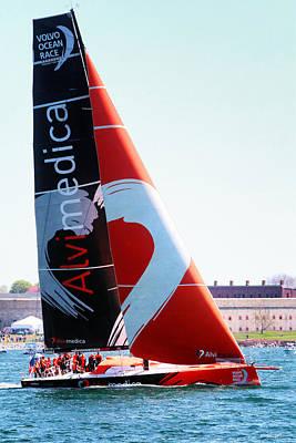 Volvo Ocean Race-team Alvimedica Poster