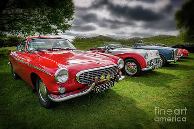 Volvo P1800 Coupe  Poster by Adrian Evans