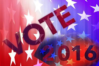 Vote 2016 Poster by Thomas Morris