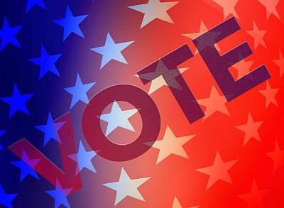 Vote Poster by Thomas Morris