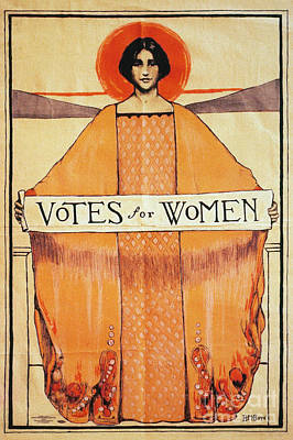 Votes For Women, 1911 Poster